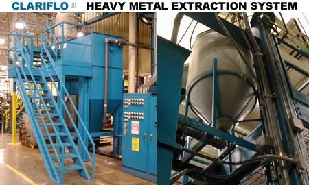Clarifo Heavy Metal Extraction System